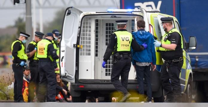 nine arrests have been made