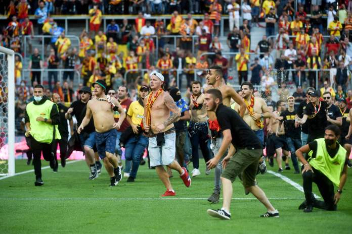 The madness was a concern for everyone inside the field
