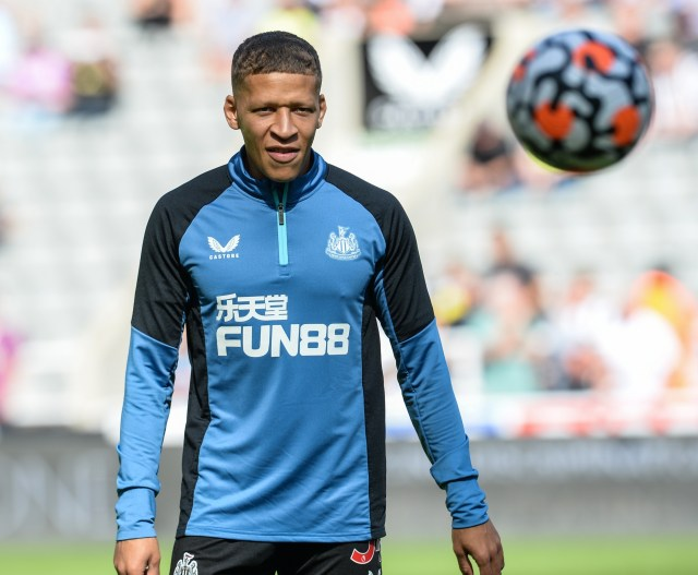 Dwight Gayle is said to have had a training ground bust up with coach Graeme Jones
