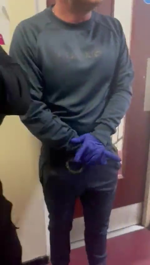 The duo also had a set of handcuffs with them