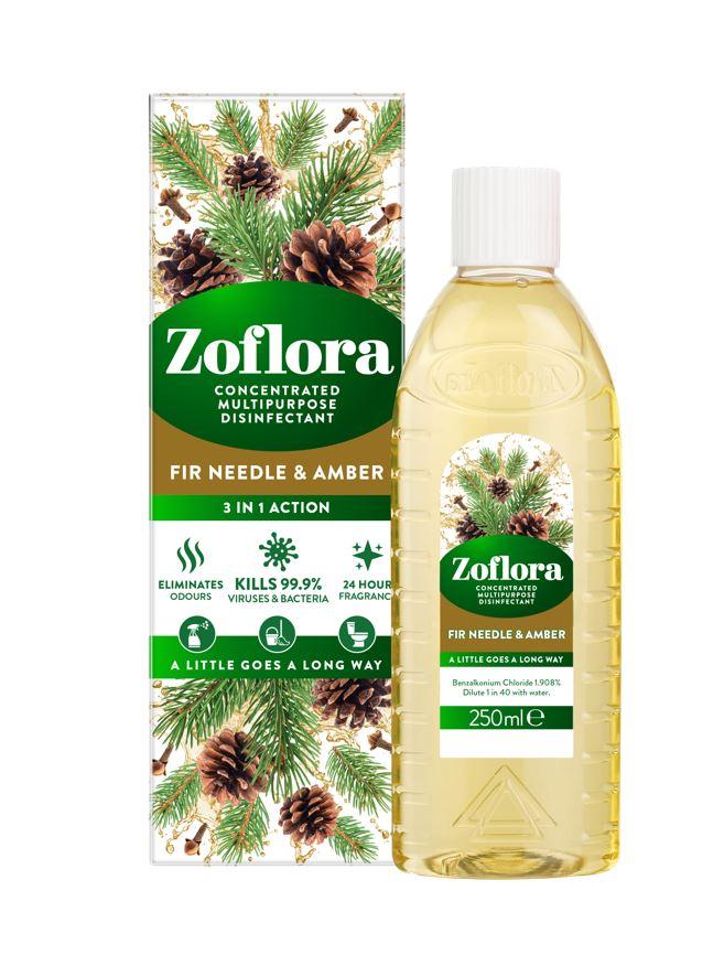 Zoflora fir needle & amber, £2.99 at B&M