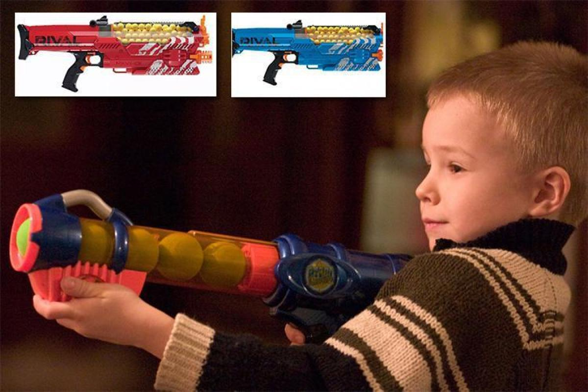 Nerf have released a brand new toy gun… and it can blast ...