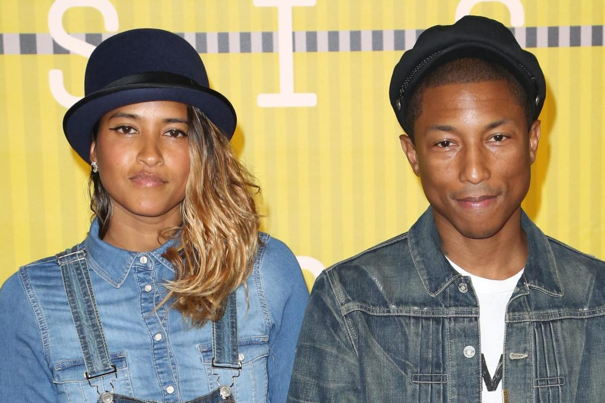 Pharrell Williams And Wife Helen Welcome TRIPLETS Just