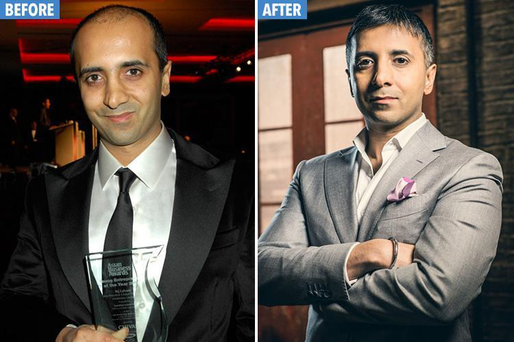 Dragons Den star Tej Lalvani shows off his new barnet on hit show  but stays tightlipped