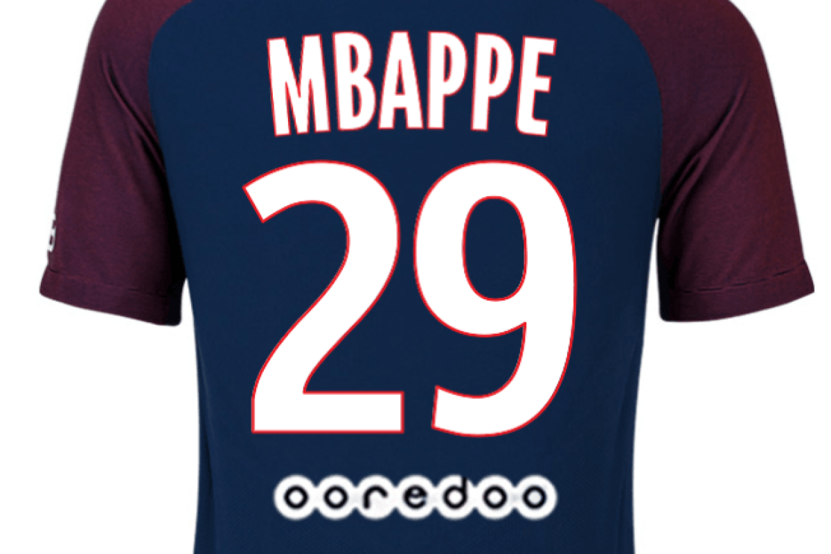 3fde1f48c Kylian Mbappe to wear No 29 shirt at PSG as new club charges up to  staggering €165 for replica jersey