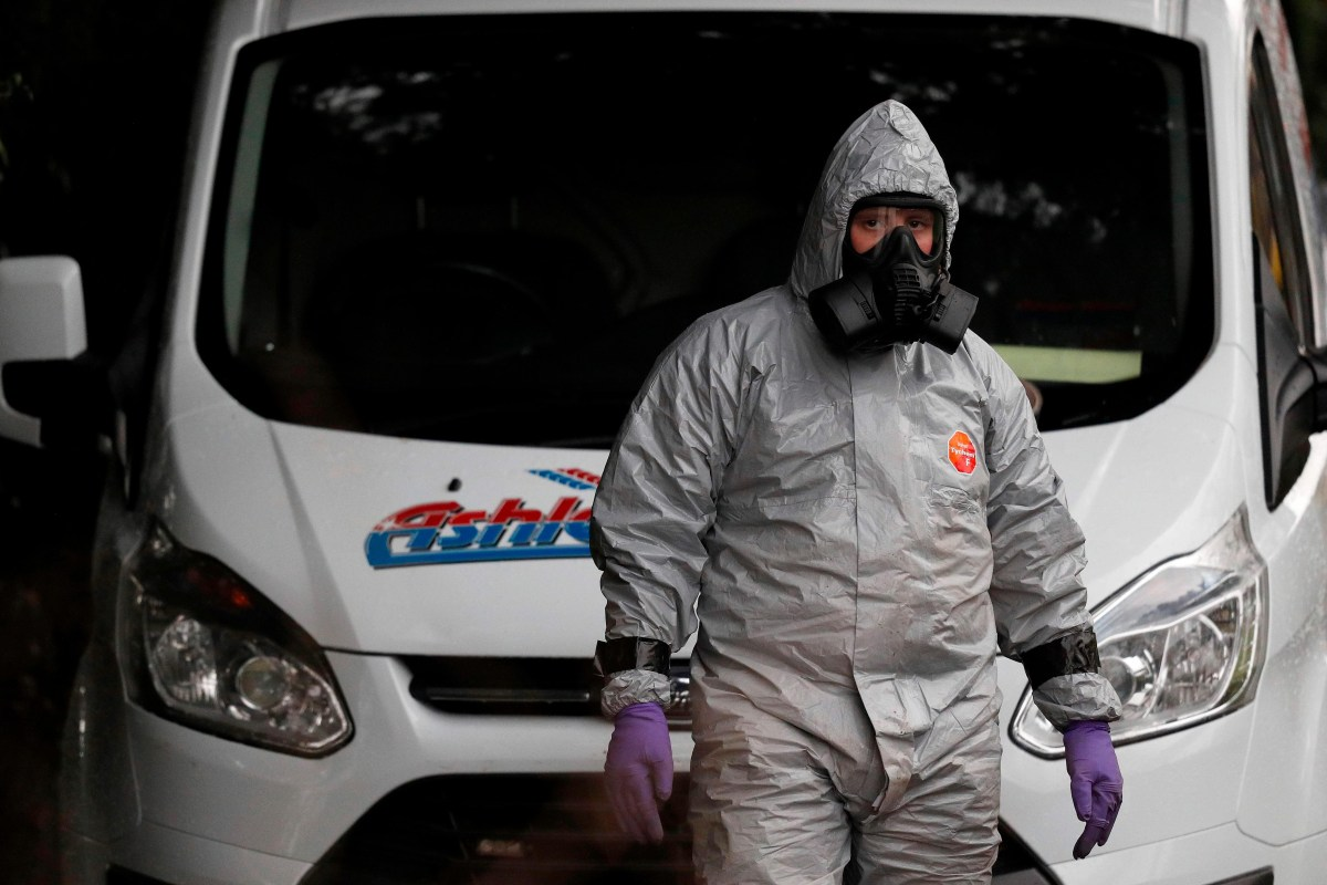 What was the Russian Novichok nerve agent programme and where was the military grade poison created?