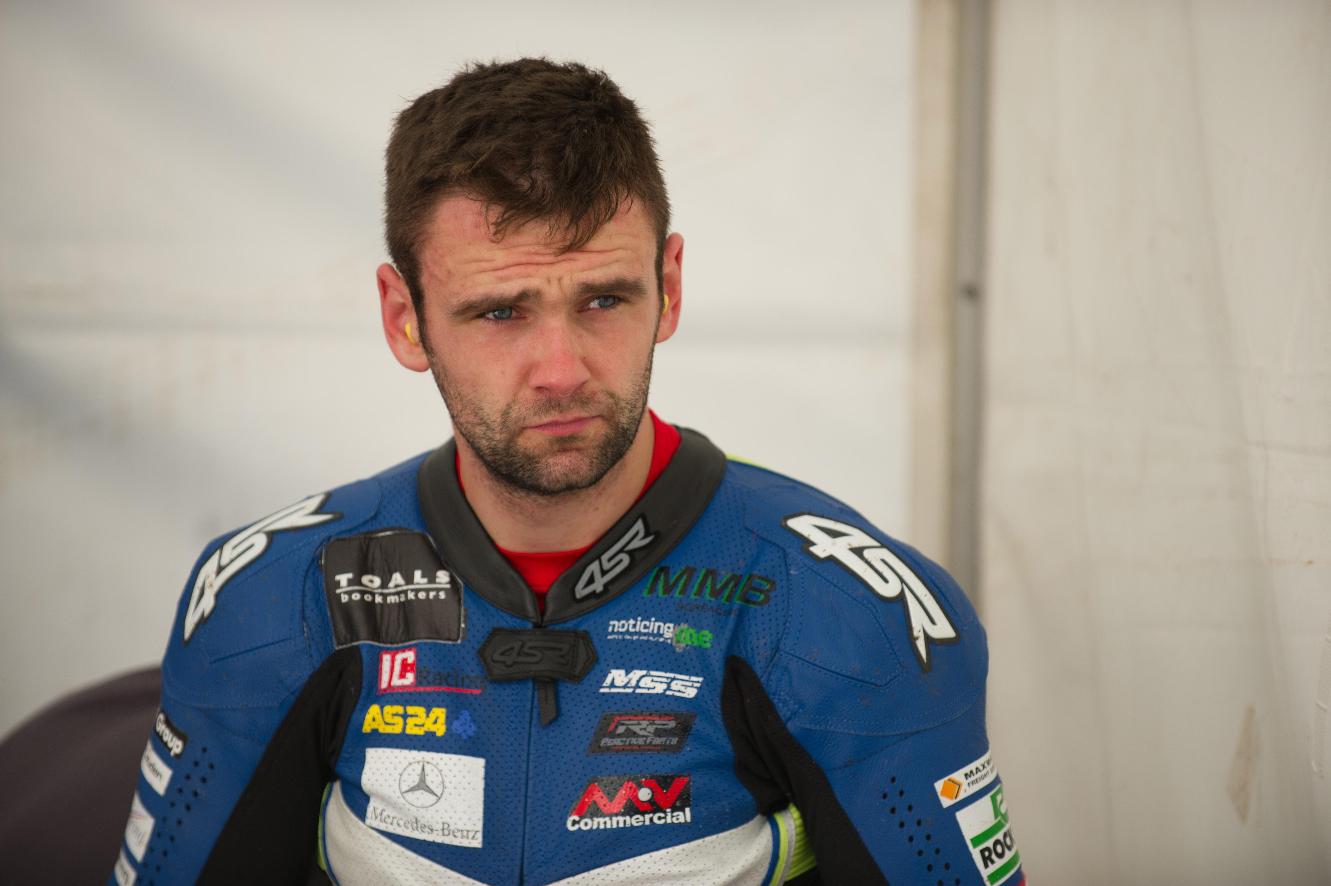 William Dunlop died in a crash today