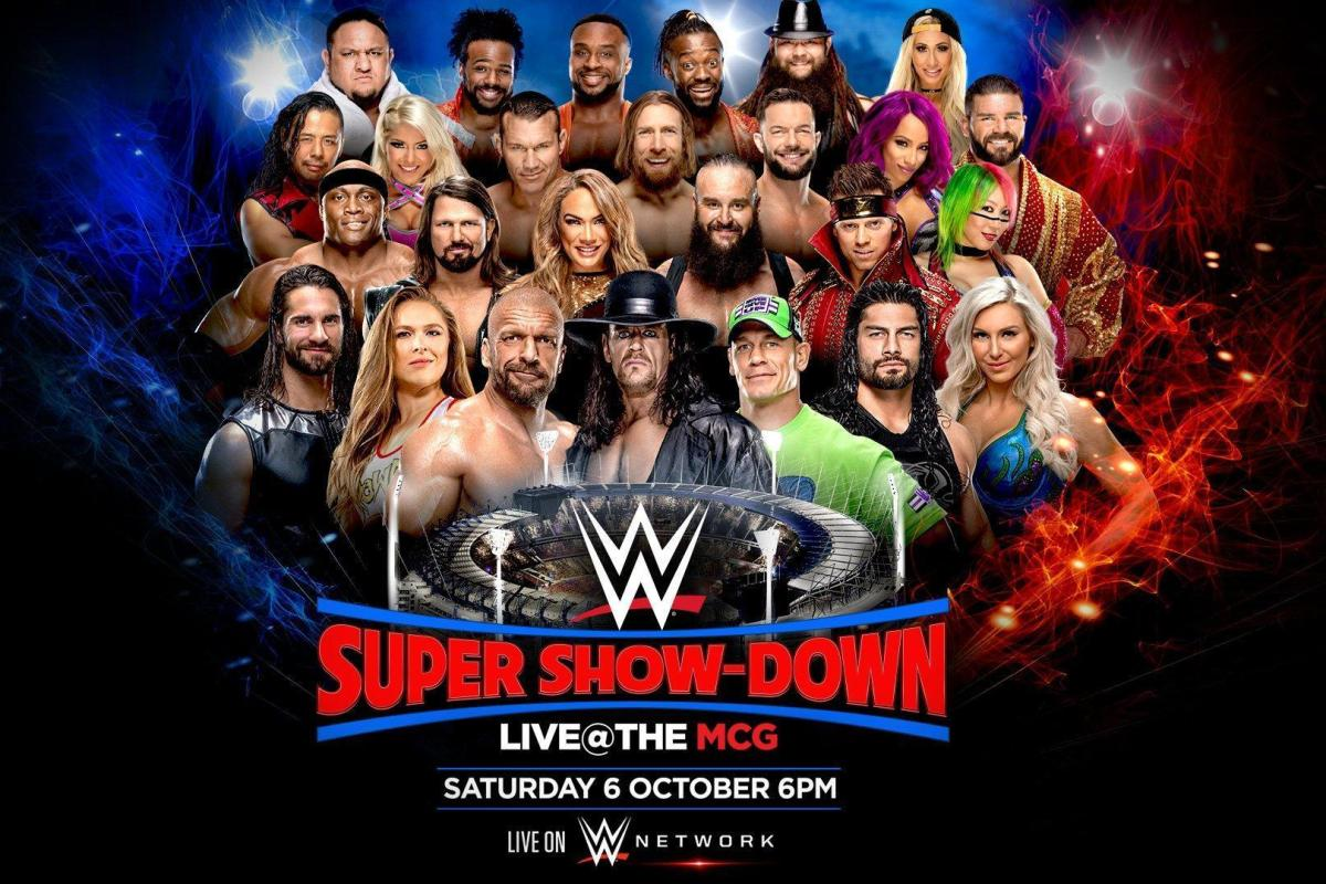 Wwe super show down how to watch it free live stream for How to watch motors tv online