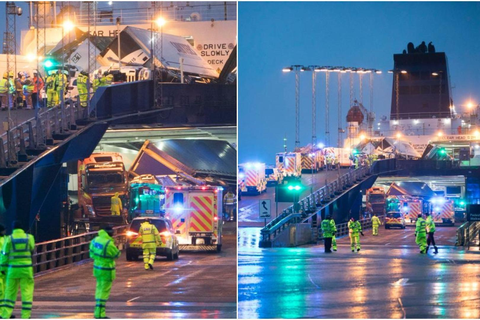 Major Incident On P Amp O Ferry Bound For Northern Ireland As