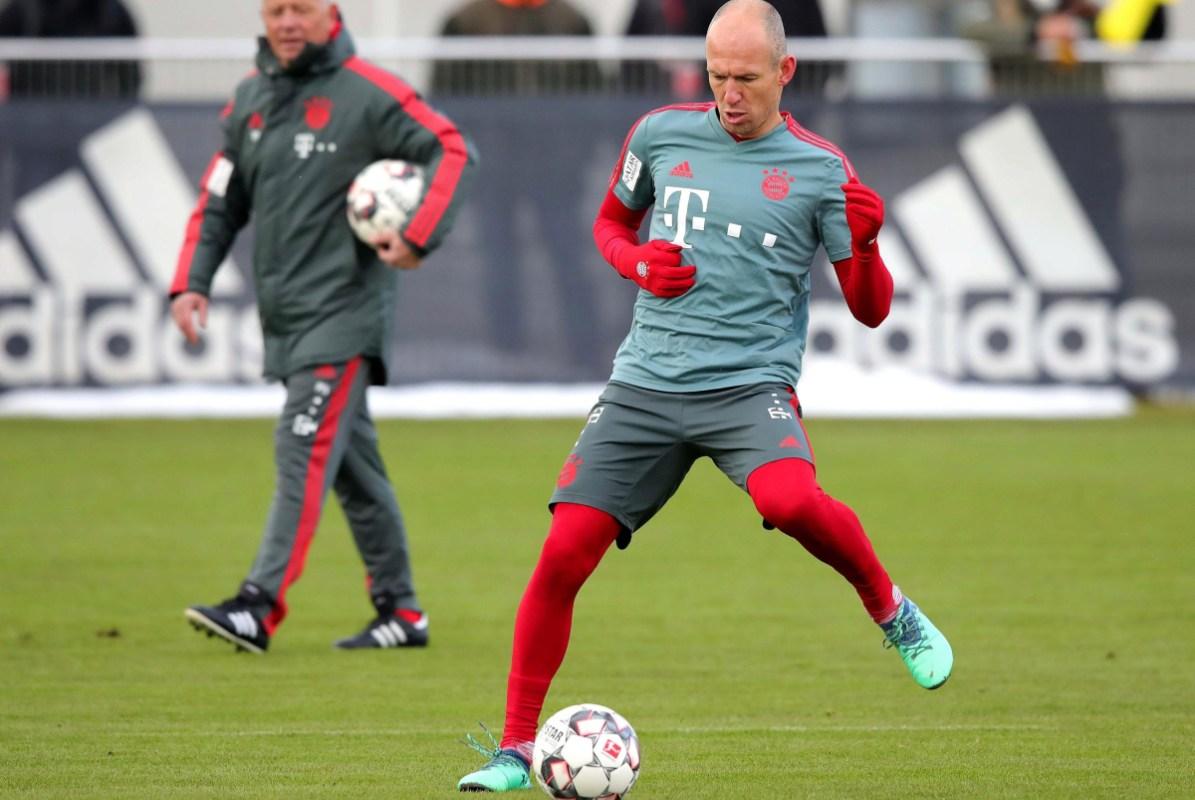 Arjen Robben Set To Join Iniesta Torres And Villa In