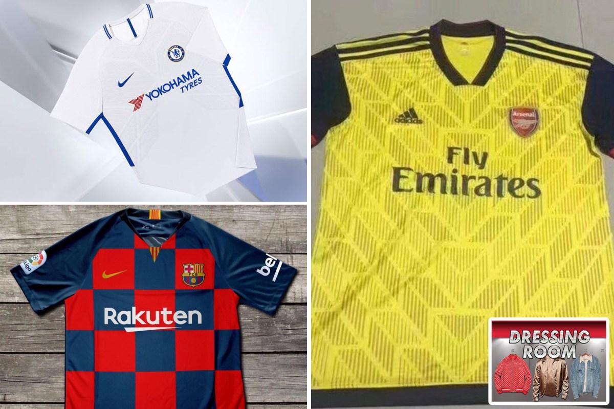 Football Kit Leaks 2019 20 What Chelsea Man Utd Arsenal