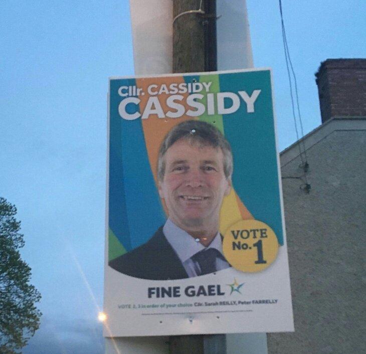 fine gael councillor laughs