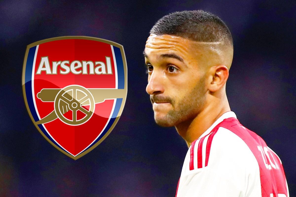 Ajax Superstar Hakim Ziyech Wants To Join Arsenal But