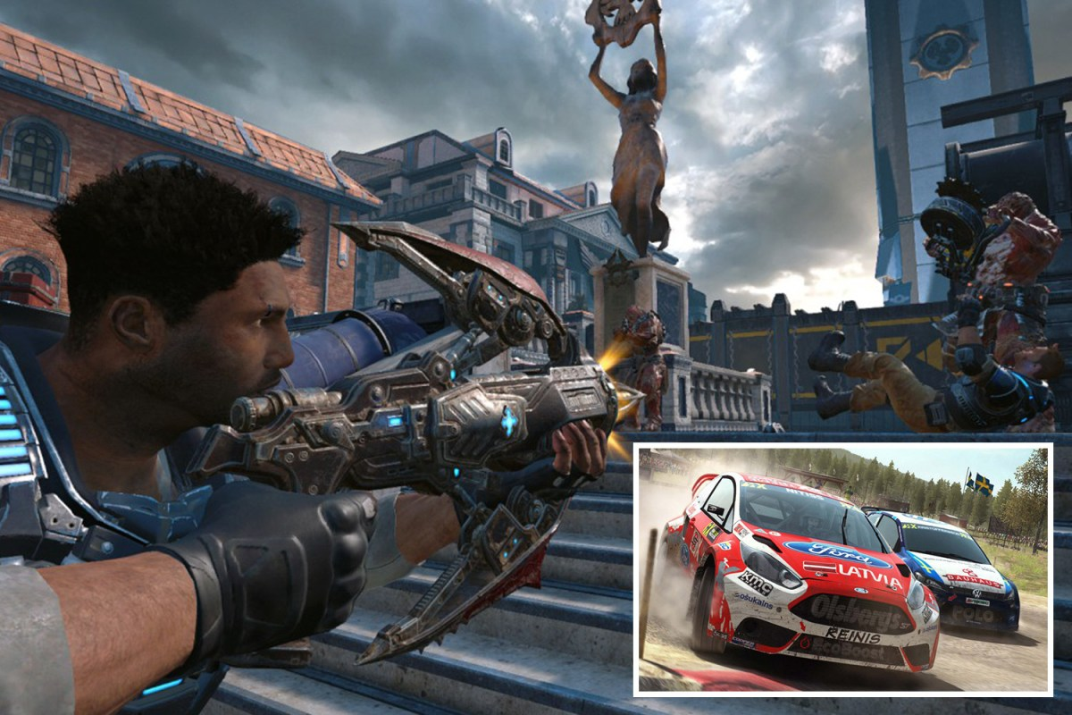 Xbox Games With Gold August 2019 Gears Of War 4 And