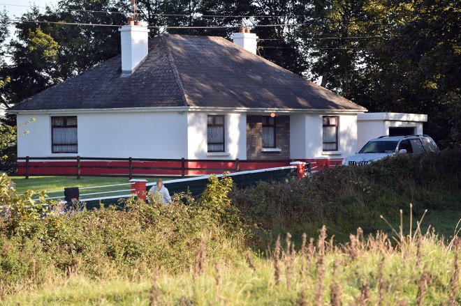 The shooting happened just before midnight in the townland of Coogue