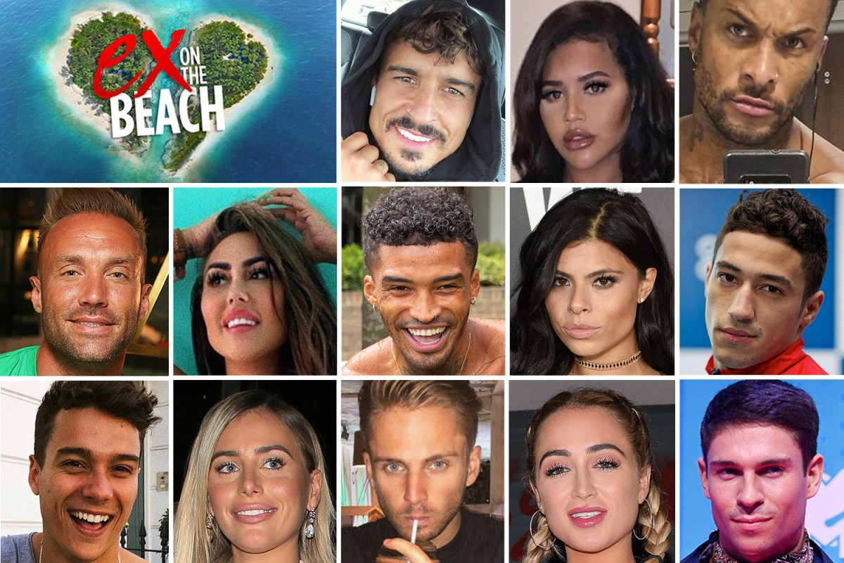 Ex On The Beach 2019 Line Up Revealed And It S Jam Packed