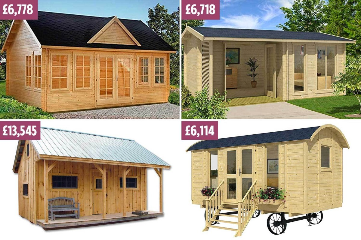 Tiny Homes You Can Buy On Amazon And Build In Just One Day