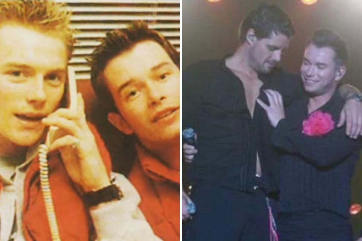 Boyzone S Keith Duffy And Ronan Keating Pay Tribute To