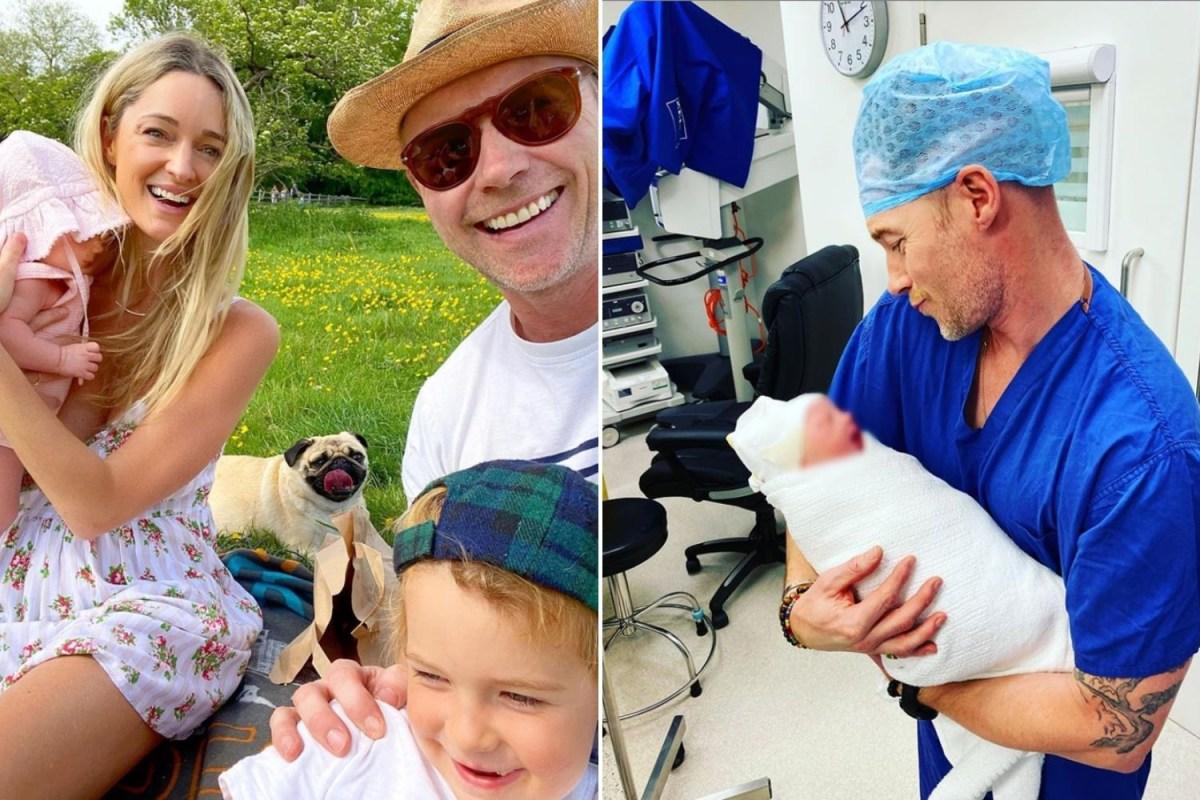 Boyzone Singer Ronan Keating Calls Newborn Coco Superstar