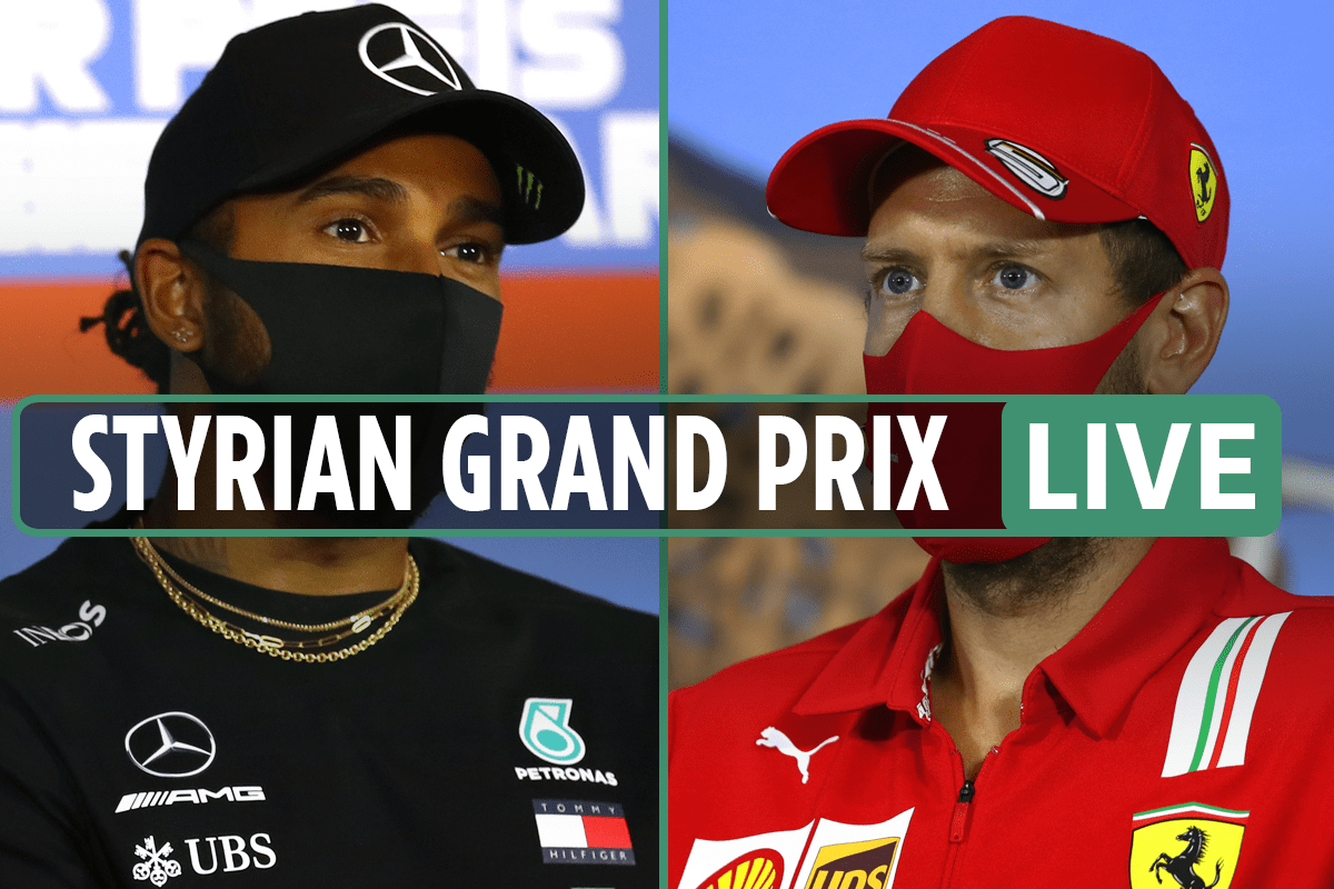 F1 Styrian Grand Prix Live Results Hamilton 6th In Fp2 As