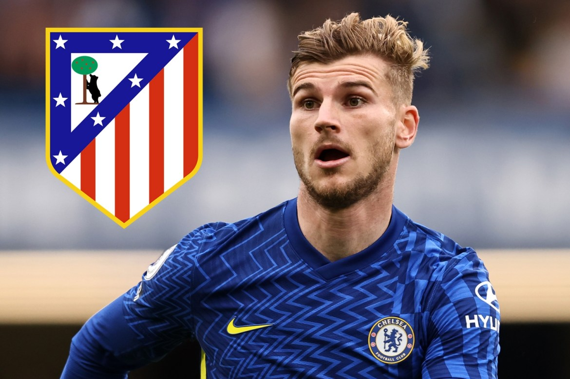 Chelsea star Timo Werner wanted Atletico Madrid to team up with Luis Suarez  and Griezmann after Southampton's goal. - Worldakkam