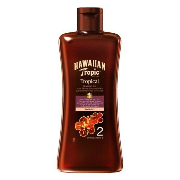 Hawaiian Tropic Professional Tanning Oil 2 Intense 200ml