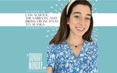 Episode 19 | Law School, The Sabbath, and Biking from Texas to Alaska