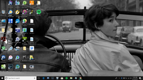 Tamara Dunn's desktop