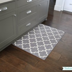Gray Kitchen Mat Cabinet Painters Priorities And New Rugs The Sunny Side Up Blog
