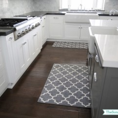 Gray Kitchen Mat Build Outdoor Priorities And New Rugs The Sunny Side Up Blog
