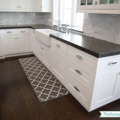 Gray Kitchen Mat Counter Tops Priorities And New Rugs The Sunny Side Up Blog