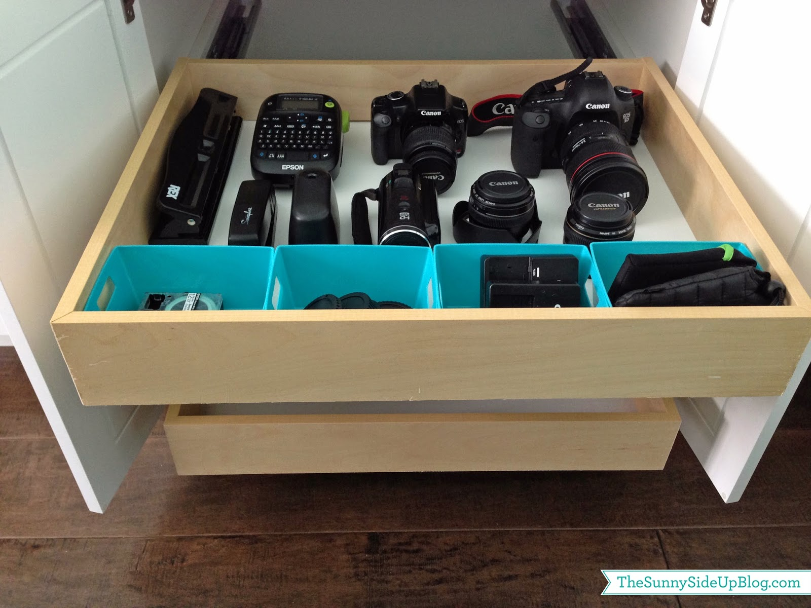 Organizing Camera Equipment  The Sunny Side Up Blog