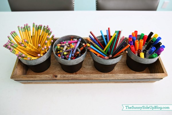 Organized Art Supplies Solution - Sunny Side