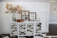 Mirrored console table - ready for fall! - The Sunny Side ...
