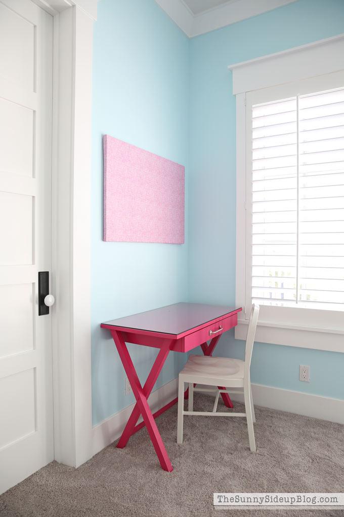 Girls Bedroom Desks  The Sunny Side Up Blog