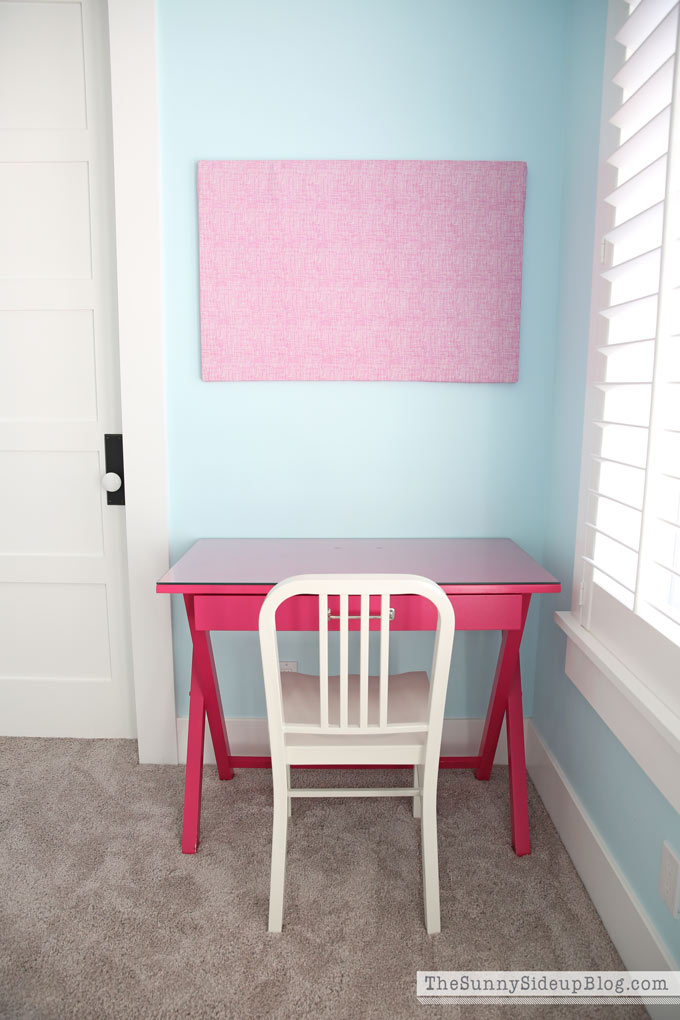 chair covers pottery barn loose dining nz girls' bedroom desks - the sunny side up blog
