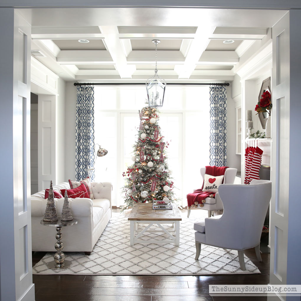 Christmas Formal Living Room Decked and Styled Home Tour
