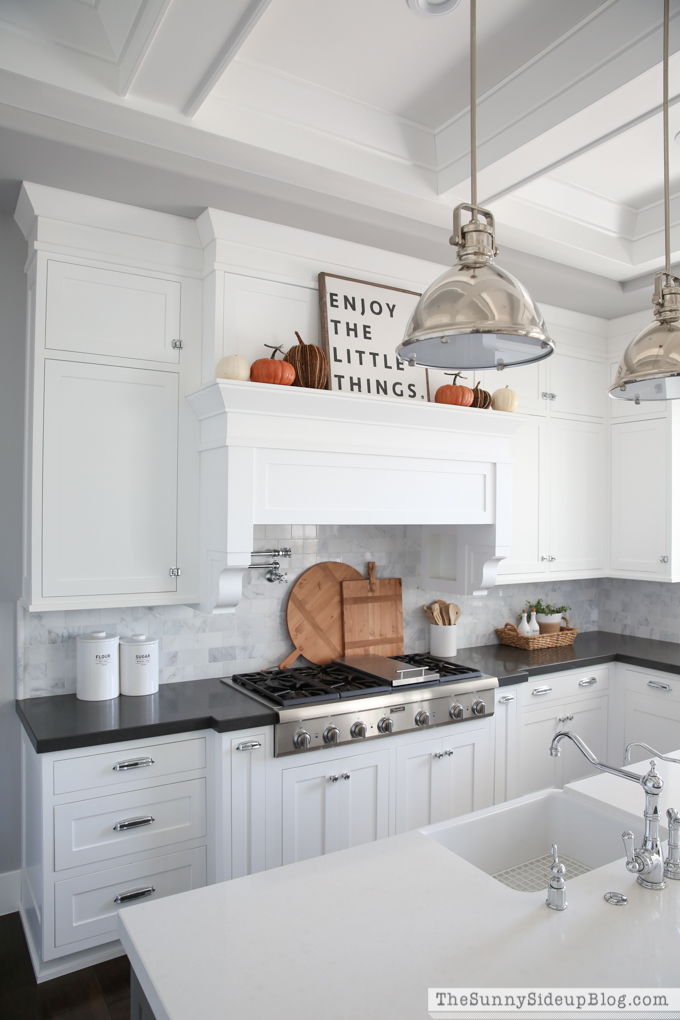 fall kitchen decor pulls and knobs simple the sunny side up blog