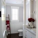 Kitchen Window And Powder Bathroom Christmas Decor The