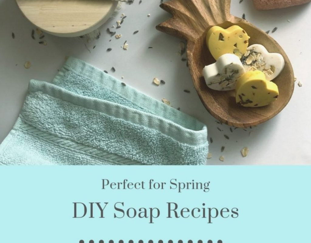 DIY Soap Recipe for Spring