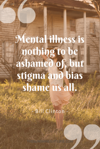 Bill Clinton Quote on Stigma