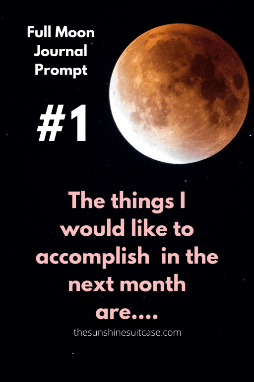 Full Moon Journal Prompt 1