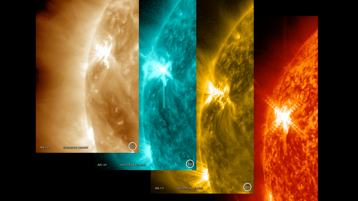 AR11476 Flaring in Multiple Wavelengths