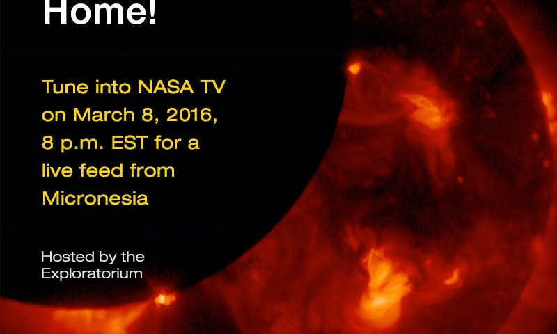 Southeast Asia Total Solar Eclipse 2016