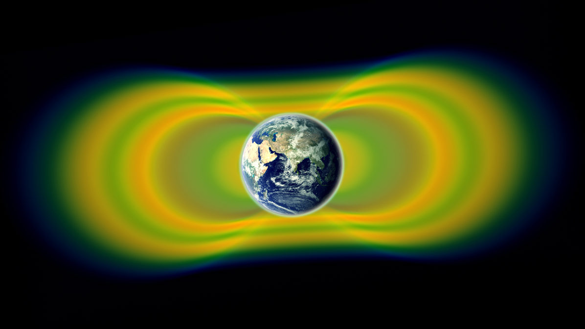 NASA spacecraft discover a third radiation belt surrounding Earth.