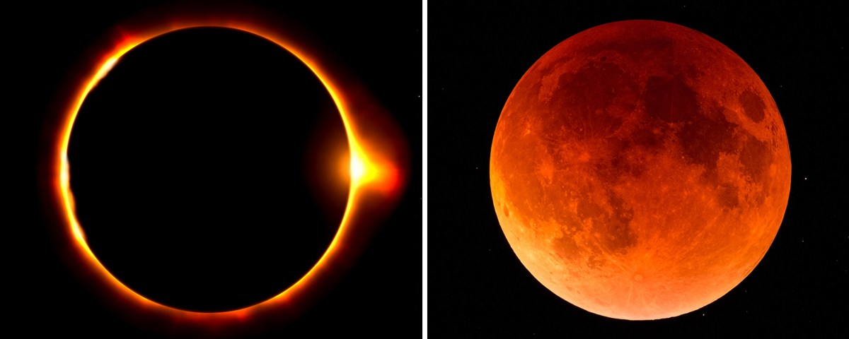 Annular Solar Eclipses & Lunar Eclipse