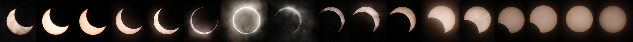 Annular Eclipse - Japan - May 21, 2012 CREDIT: George Olcott