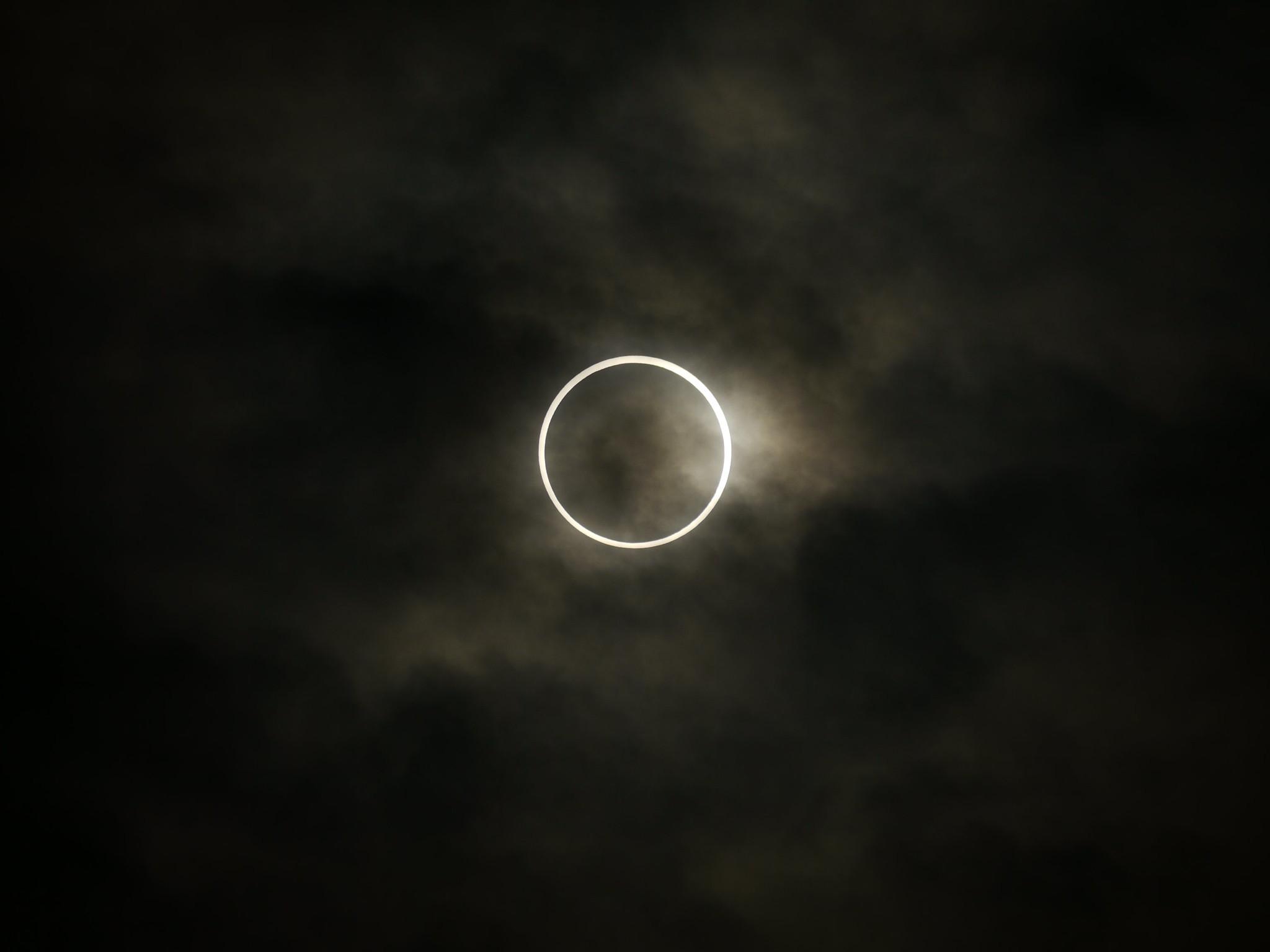 Annular Eclipse – Japan – May 21, 2012 CREDIT: Hidetsugu Tonomura