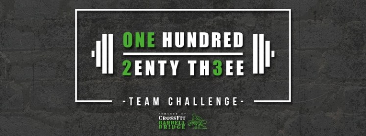 One Hundred 2enty th3ee - competizione CrossFit - Pavia | The SunWod
