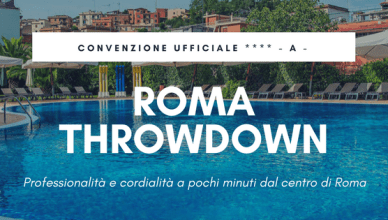 Convenzione hotel A - Roma Throwdown 2018 | The SunWod